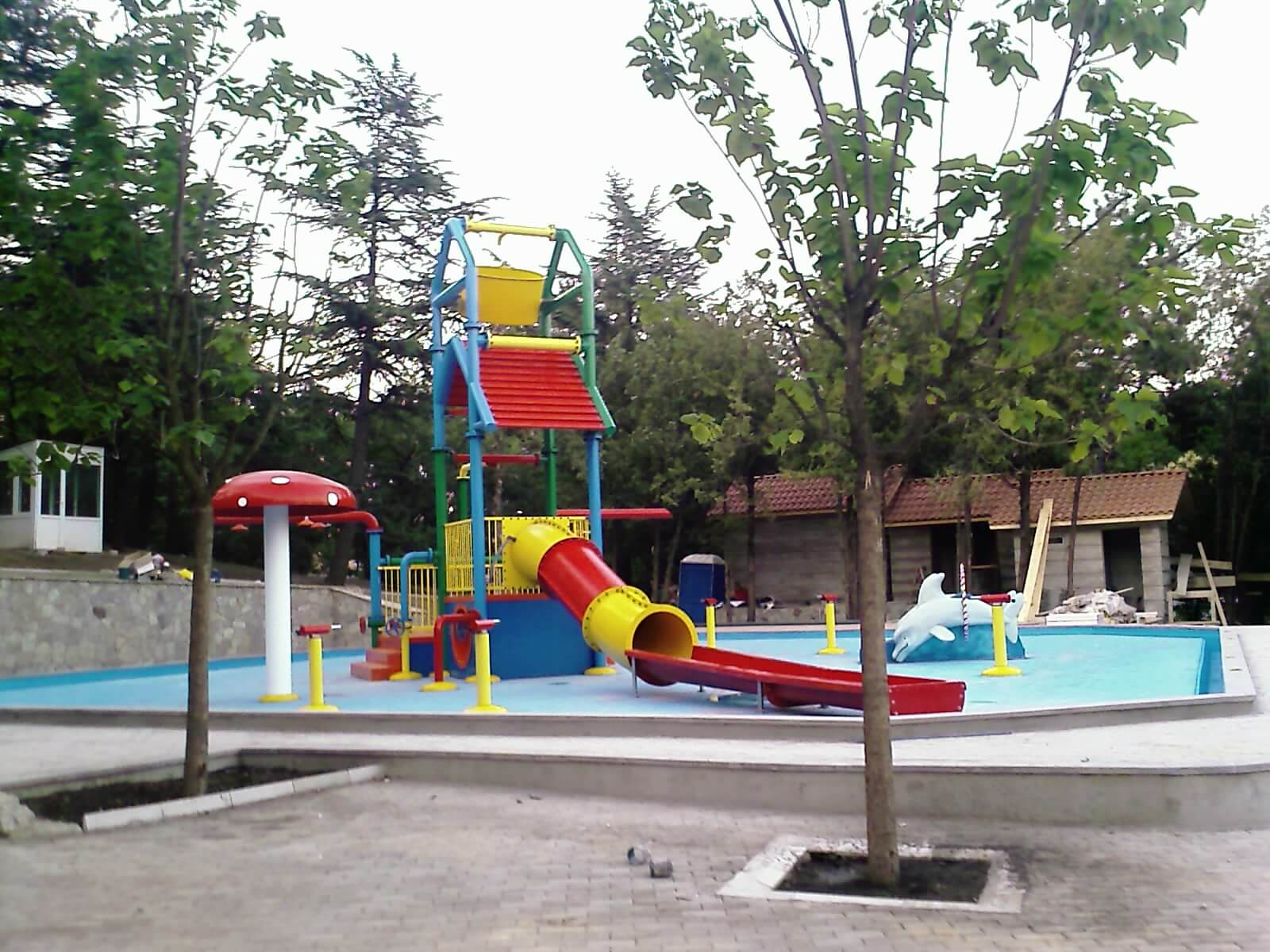 Waterpark Salford te Tbilisi (Georgie)