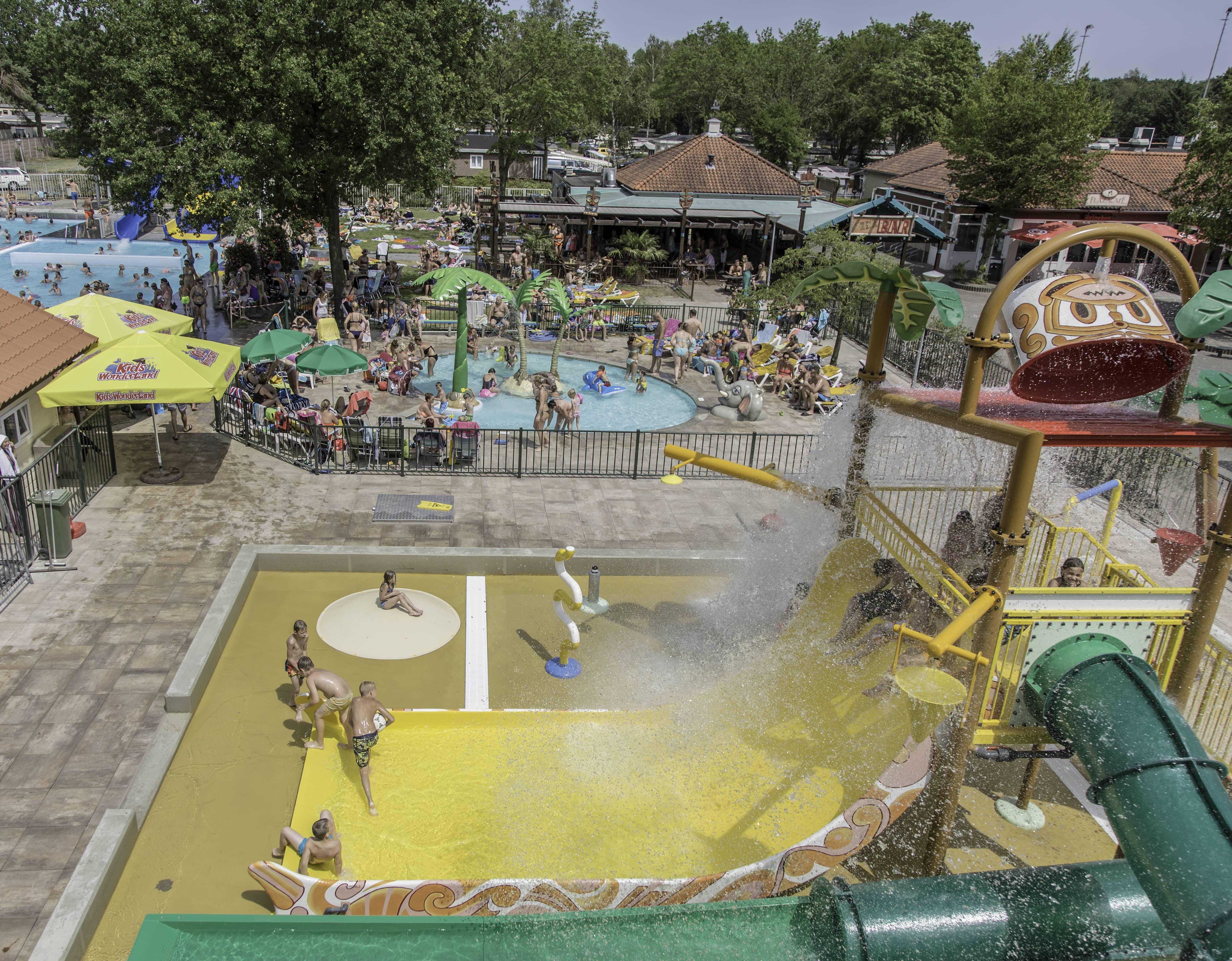 Spraypark Recreatiecentrum Linbergpark te Molenschot
